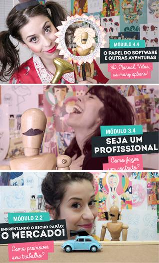 Curso Carreira Ilustrador por Clau Souza - Escola Borogodó