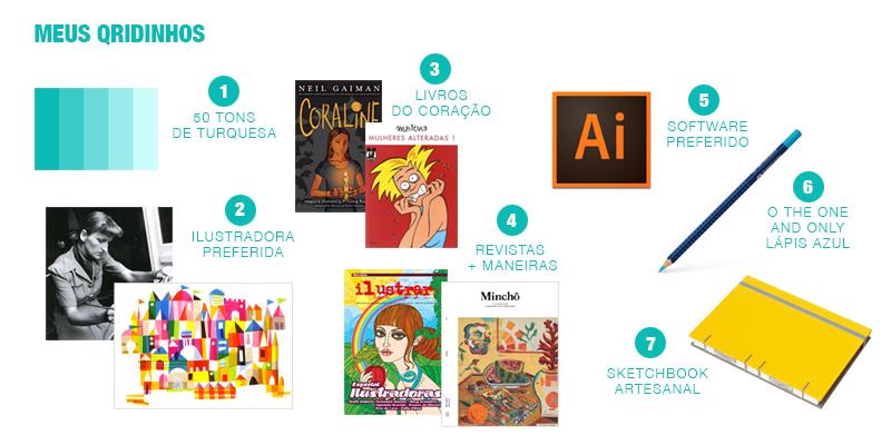 Favoritos da Clau Souza Ilustradora